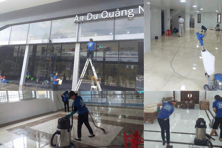 Đội vệ sinh công nghiệp Quảng Ninh