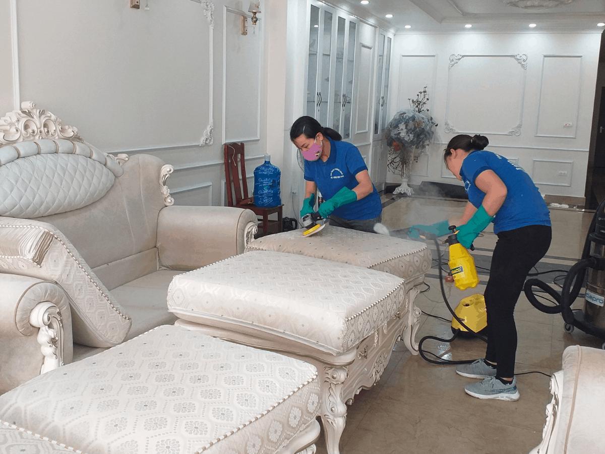 Dịch vụ giặt ghế sofa Hạ Long, Quảng Ninh (giặt tại nhà)